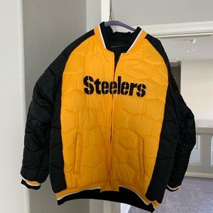 Reversible Steelers Winter Jacket